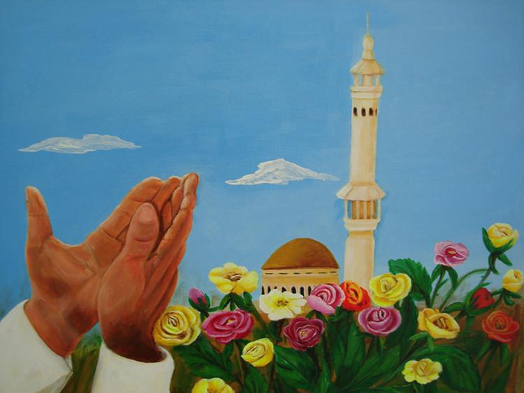 Kaaba 2012   50 x 40 cm