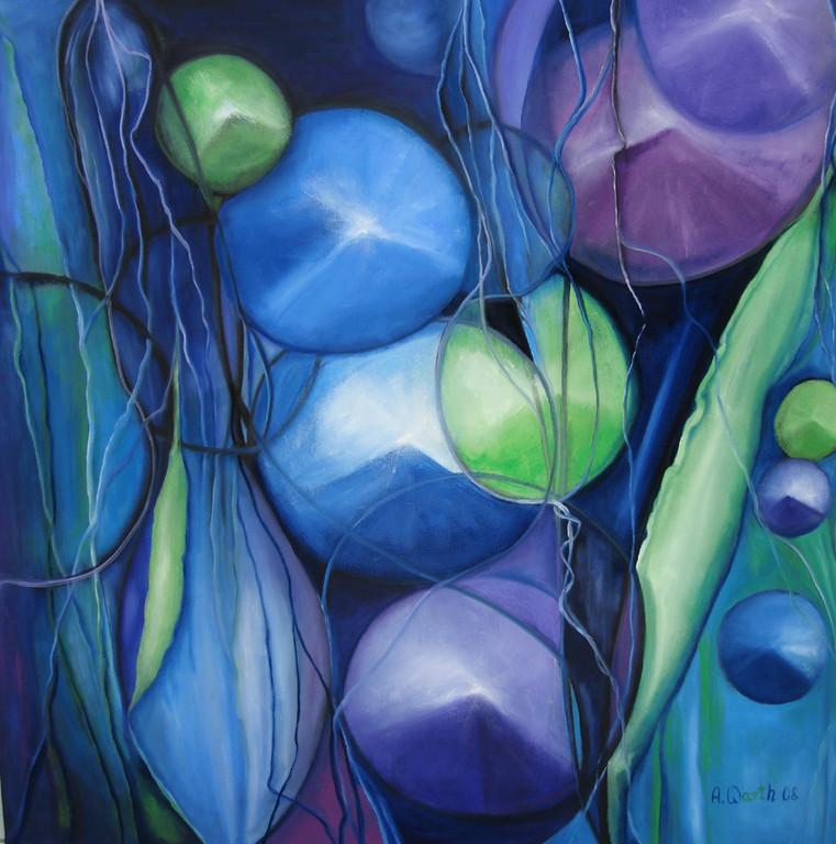 Harmonie   80 x 80 cm      2008
