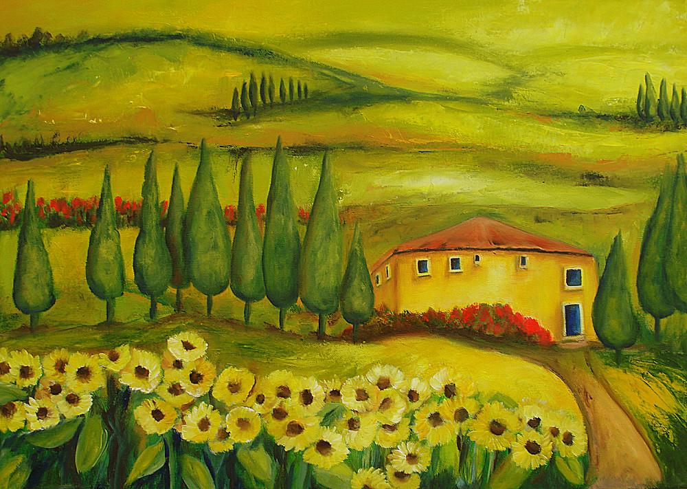 Toscana   2011   70 x 50 cm