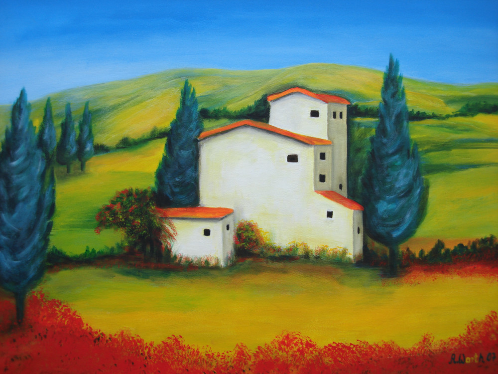 Toscana   2007   70 x 50 cm