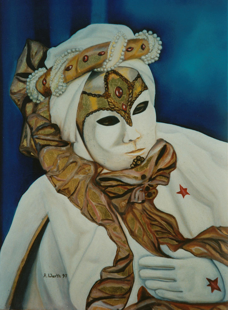 Carneval in Venedig 1997  50 x 70 cm