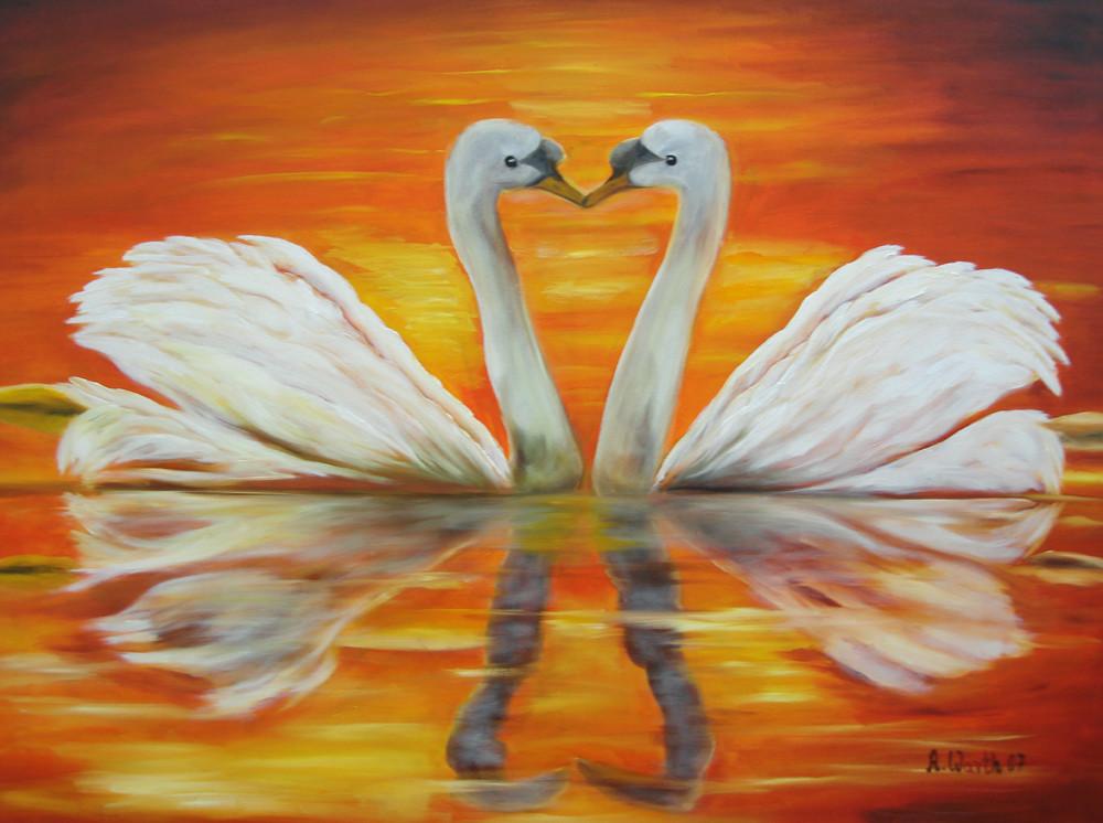 Liebe ist....  2007   Öl   80 x 60 cm