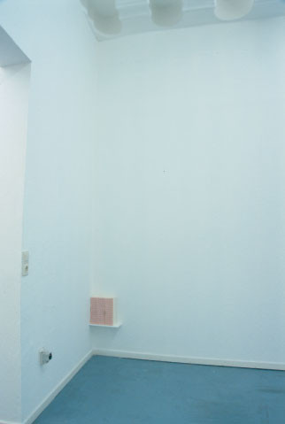 installation view of untitled (If a monster run after you, where do you hide in)