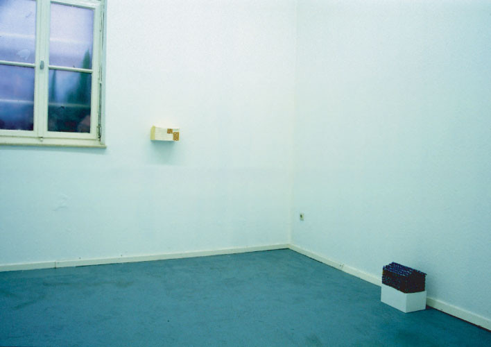 installation view of 'untitled (If a monster run after you, where do you hide in)'