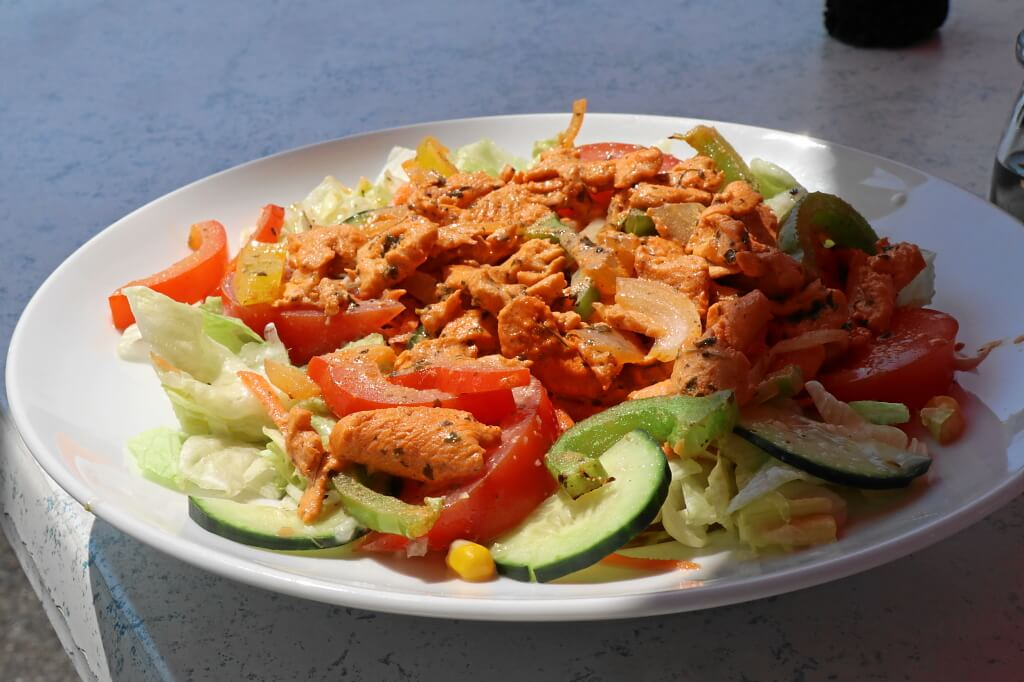 Indischer Chicken-Salat