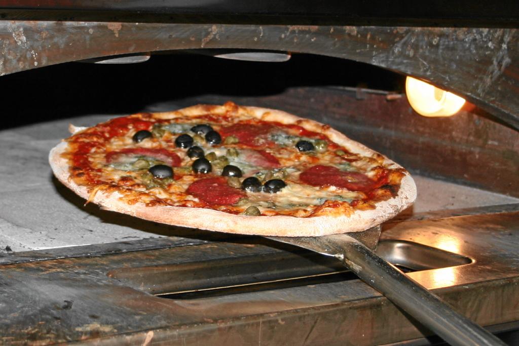 spezialisiert auf knackige Pizza ...