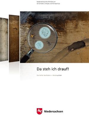 Titel Broschuere Boden - Niedersächsisches Ministerium für Umwelt, Energie und Klimaschutz - Mitwirkung an Konzept und Text fundwort