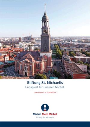 Titel Jahresbericht - Stiftung Hamburger Michel - Konzept und Text fundwort