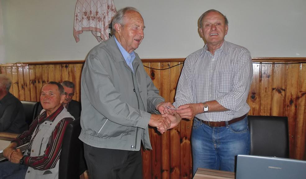 Dieses Mal war Werner Eichhorn der strahlende Sieger