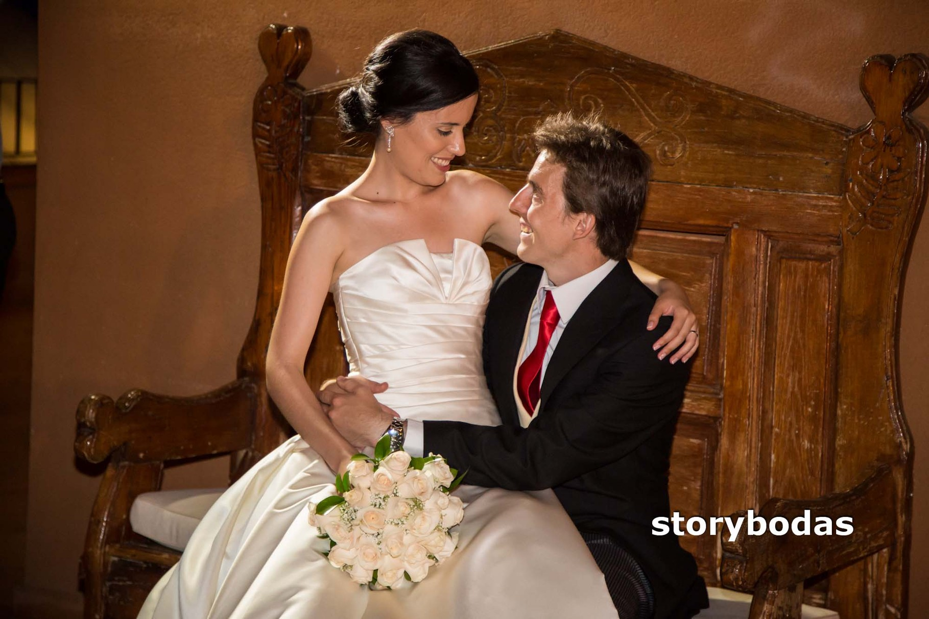 storybodas Fotos de pose novios boda 7