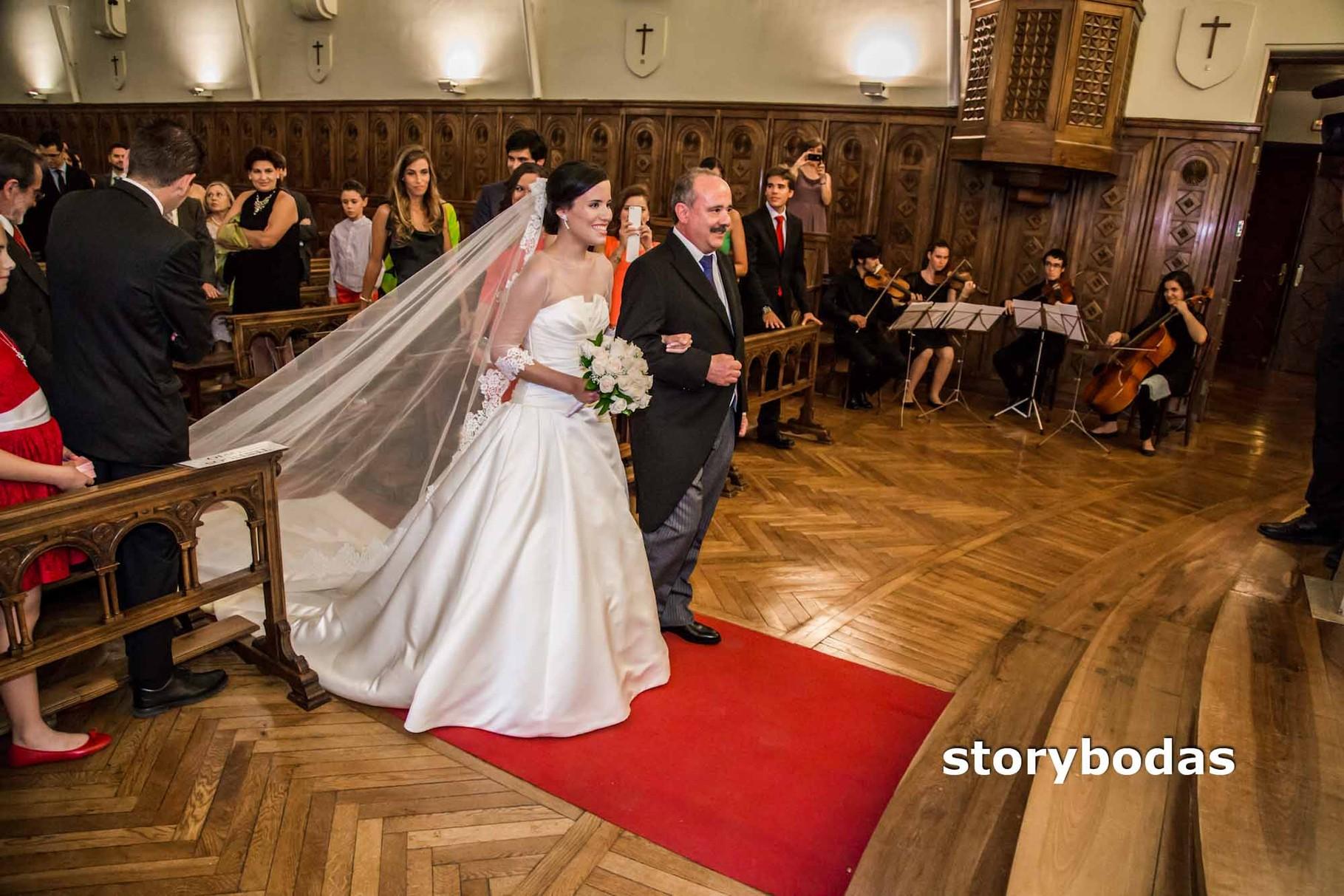 storybodas Llega la novia a la Ceremonia 3