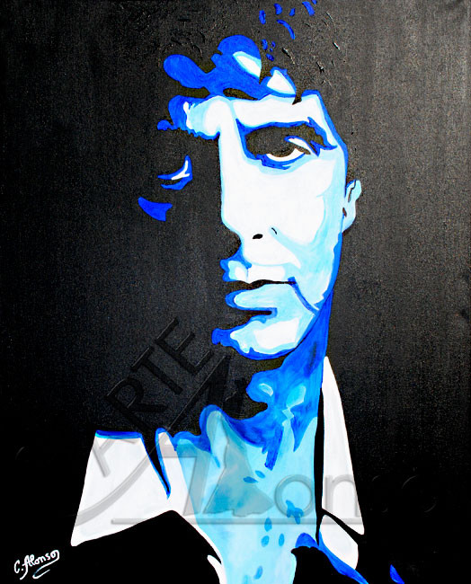 Al Pacino III (2010), 100 x 80 cm, acrylic on canvas