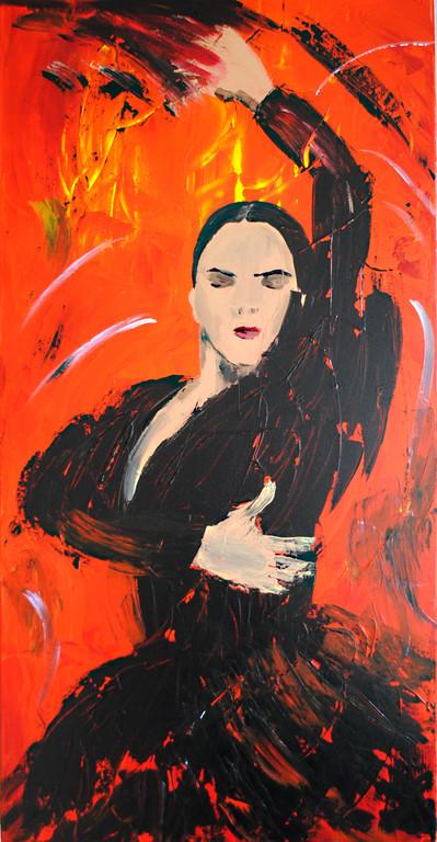 Spritzig (2010) 100 x 50 cm