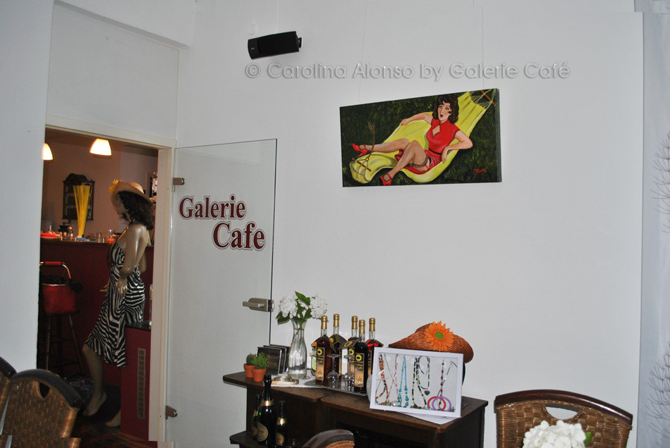 Galerie Café Berg.Gladbach im Juli 2015
