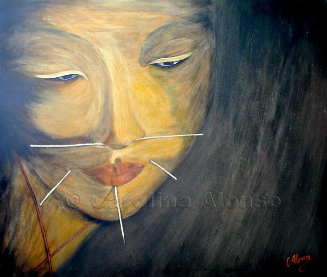 Trance 2 (2009), 100 x 120 cm, Acrylic on canvas