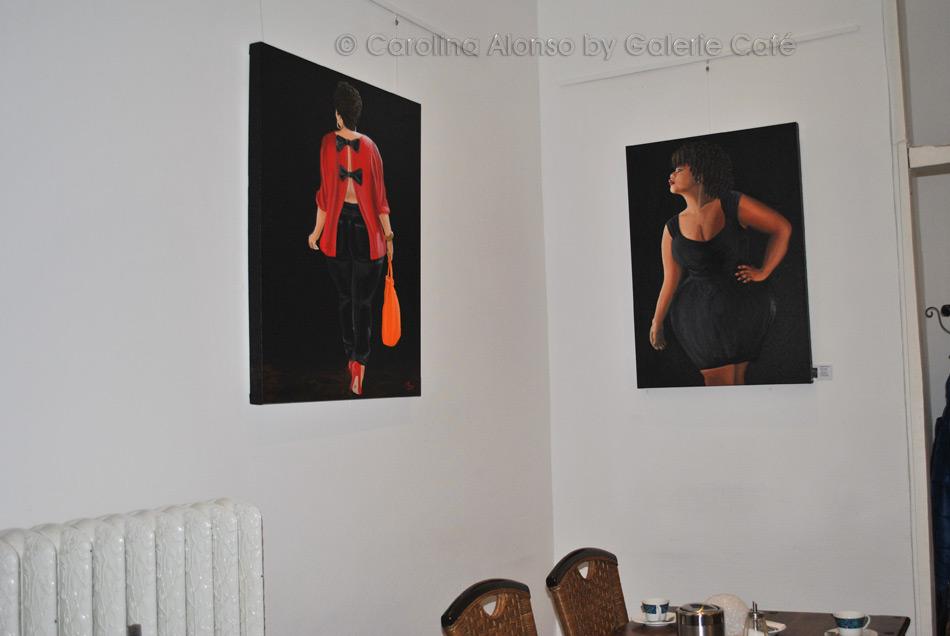 Galerie Café Berg. Gladbach im Januar 2017