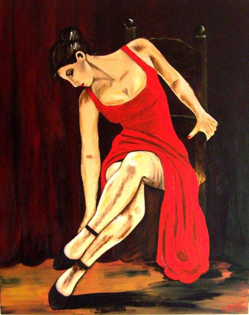 Rendezvous (2007), 100 x 80 cm