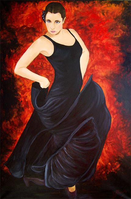 Venga  (2010), 120 x 80 cm, Acryl auf Leinwand