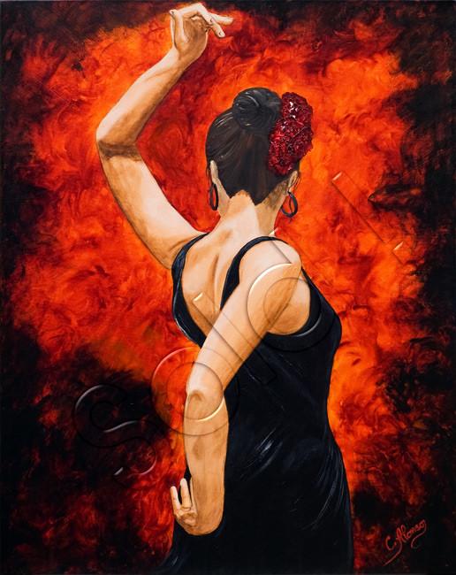 Olé (2009), 100 x 80 cm