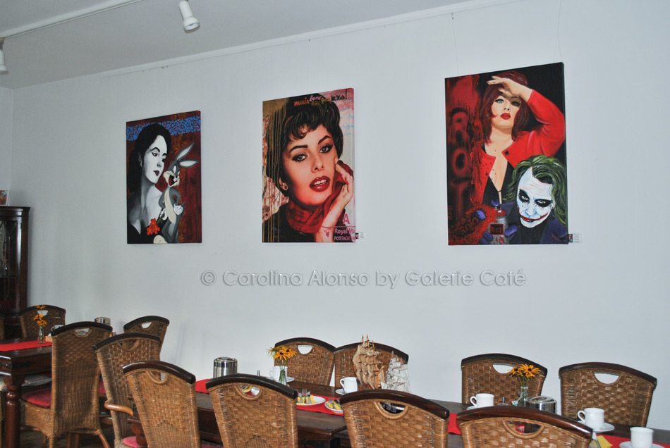"Galerie Cafe, Bergisch Gladbach ""Pop-ART"" im September 2017"