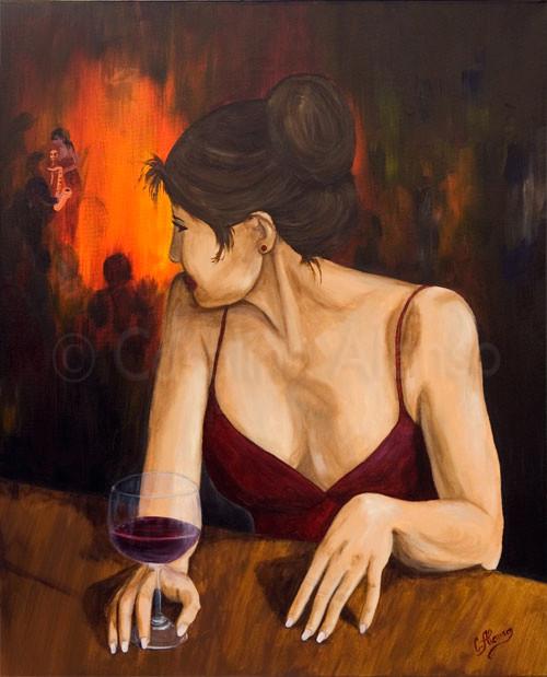 Genügsamkeit  (2008), 100 x 80 cm