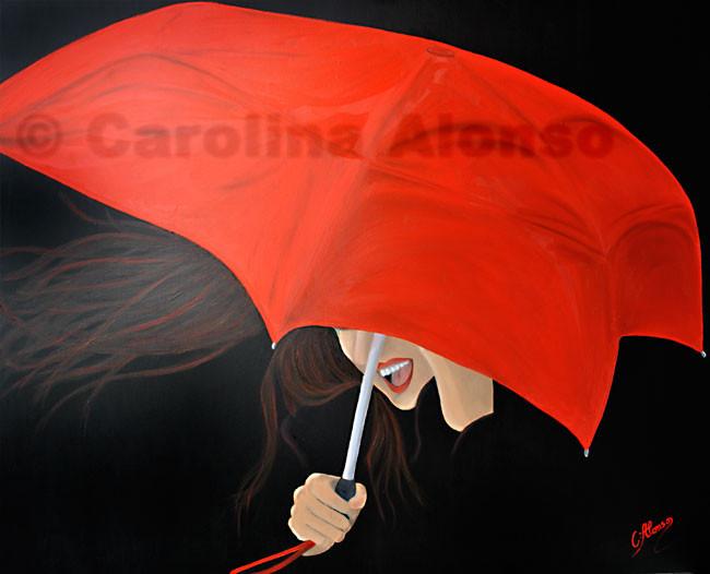 Noche de tormenta (2013), 100 x 120 cm, Oil & acrylic on canvas