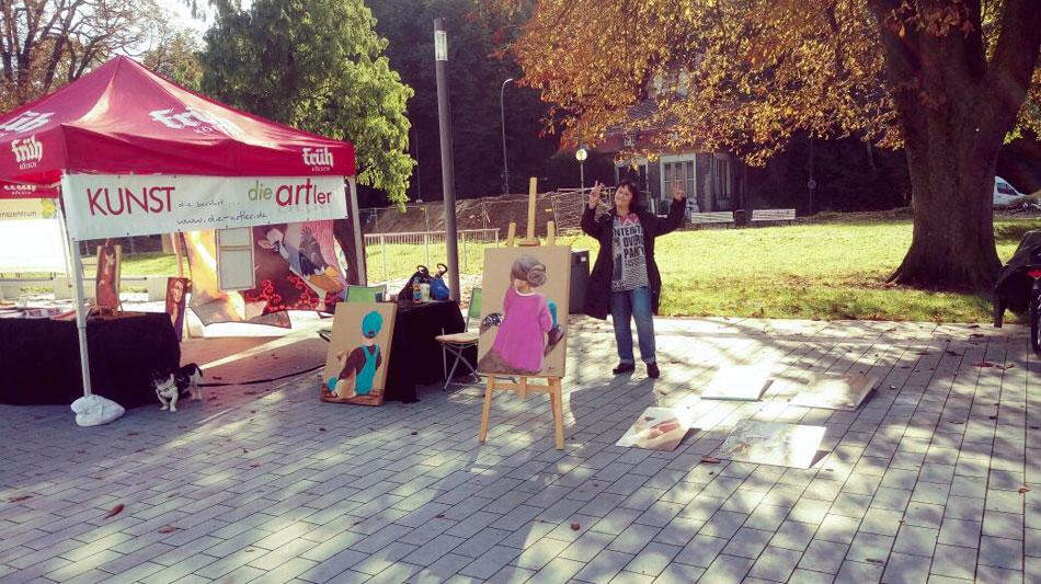 """Stadt- und Kulturfest Bergisch Gladbach 10.09.2017 mit """"die-artler"""""""