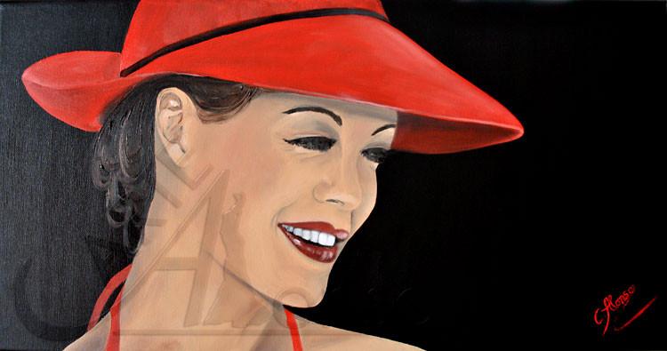 Romy (2013), 40 x 80 cm, Oil and acrylic on canvas