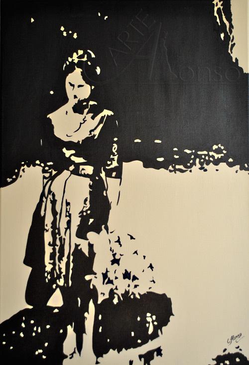 Maria del Pilar (2012) 100 x 70 cm,