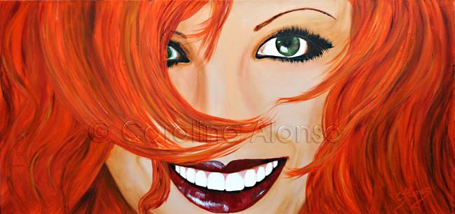 The Sunshine (2013), 40 x 80 cm, Acrylic on canvas