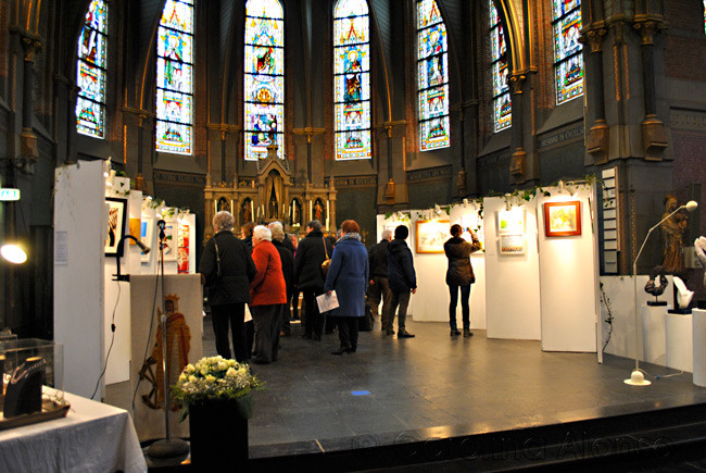 Internationaal Kunstweekend Hengstdijk, Catharinakerk Hengstdijk, Nov. 2013
