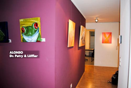 "8. kunst im carreé 2010,""einfach tierisch"", Dr. med. Claus Petry & Löffler, 07.11.2010"