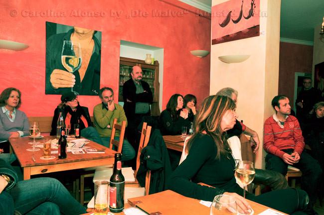 """Die Malve """"Kunst & Wein"""",50937 KÖLN-Sülz, Jan.2010"""