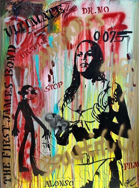 Ultimate... (2012) 120 x 90 cm, Mixed Media auf Leinwand
