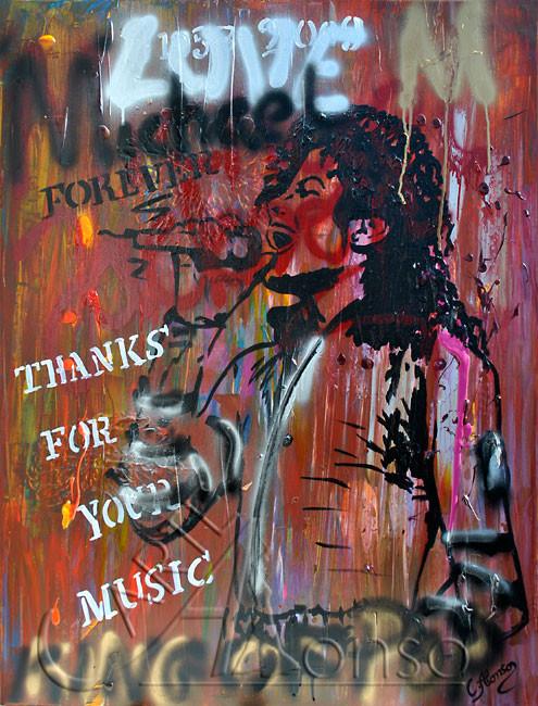 FOREVER (2012), 100 x 80 cm, Mixed Media auf Leinwand