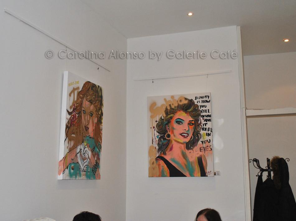 Januar 2016 - Galerie Café, Hauptstr. 247, Bergisch Gladbach