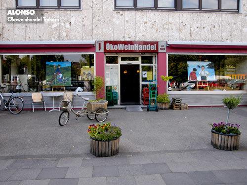 "7. Dellbrücker KUNST-MEILE"", Kunst & Wein: Ökoweinhandel Trehörn, KÖLN 2009"
