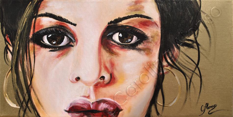 Sehnsucht (2016) , 30x60cm MixedMedia on canvas