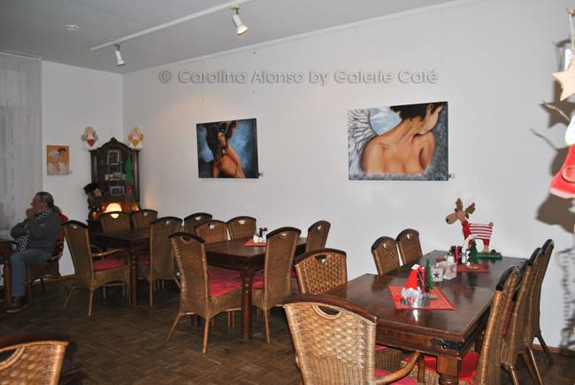 Galerie Café, Bergisch Gladbach, Nov. 2013