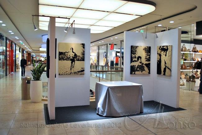 Kunst in der Rathaus Galerie 2012, März 2012