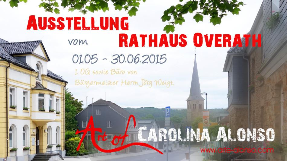 Rathaus Overath im Mai 2015