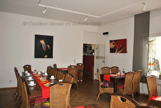 Galerie Café Berg.-Gladbach, Mai 2014