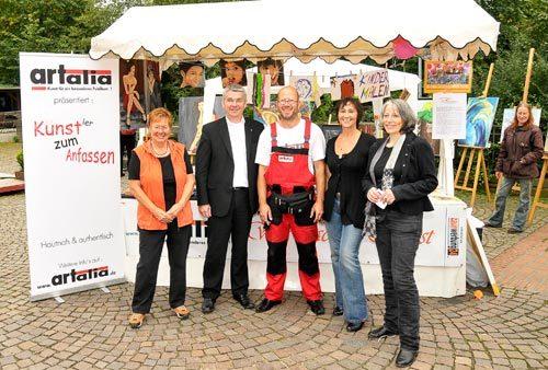 Kultur- und Stadtfest, mit Lutz Urbach, September 2010
