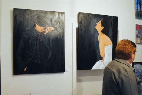 """Galerie scratchart Köln, """"die-artler""""- 14.11.2010 -"""