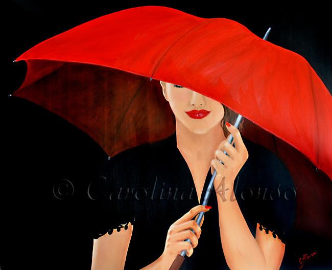 NightRain (2013), 100 x 120 cm, Oil & acrylic on canvas