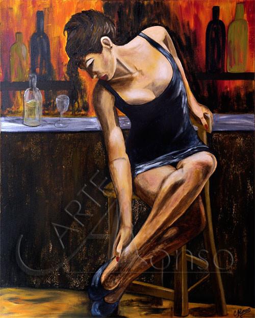 Perfect (2008), 100 x 80 cm, Acryl auf Leinwand