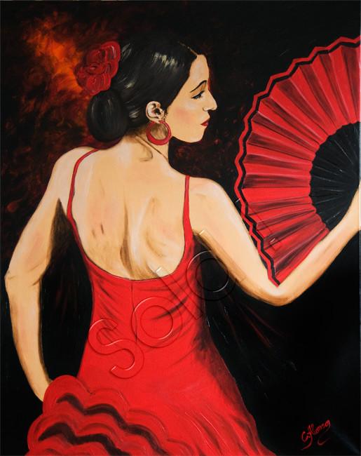 Abanico (2010), 100 x 80 cm
