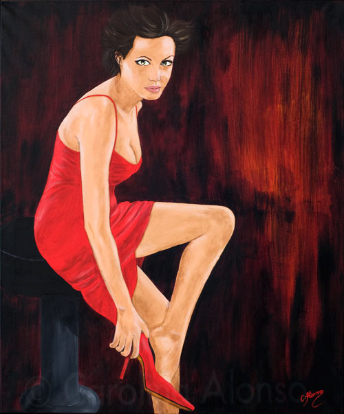 Dance with me (2010), 120 x 100 cm