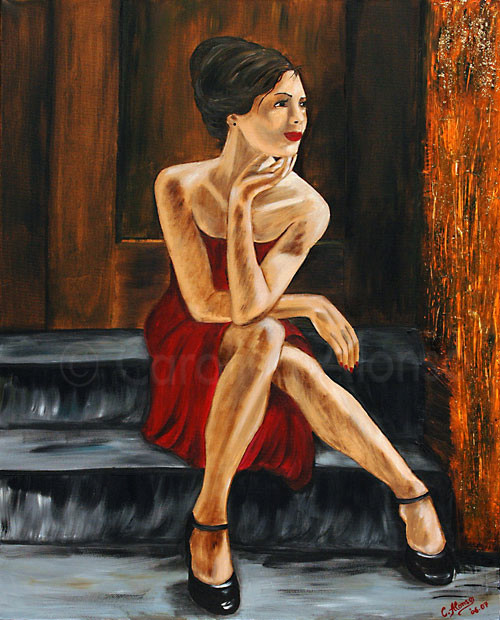 Waiting for Love  (2007), 100 x 80 cm