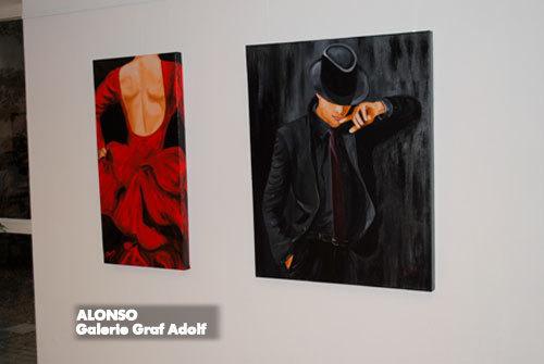 """Galerie Graf Adolf featuring artalia, """"ZWISCHENSTOPP 5 + 1"""", Mai 2010"""